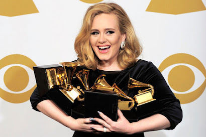 Grammy Awards 2012: Adele wins 6 awards as stars pay tribute to Whitney Houston