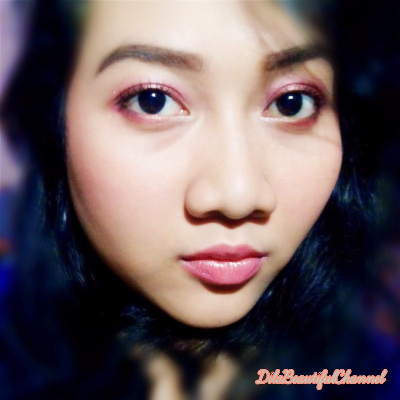 Beautiful Channel Makeup Look Pink October Support