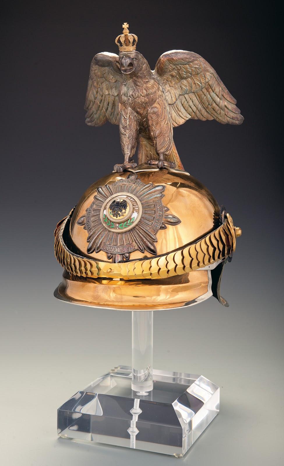 the rock island auction blog september auction prussian garde du corps officer 39 s helmet. Black Bedroom Furniture Sets. Home Design Ideas