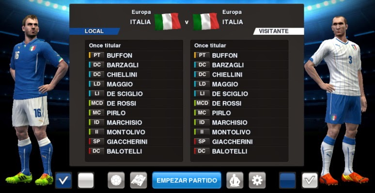 PES 2013 Italy World Cup 2014 GDB by BK-201