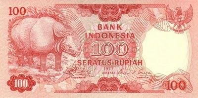 Rp100 tahun 1977