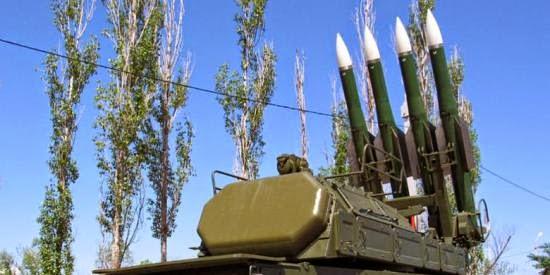 Foto Rudal Buk Yang Digunakan Menembak MH17