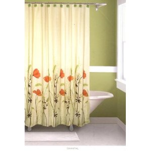 how to get blood out of shower curtain