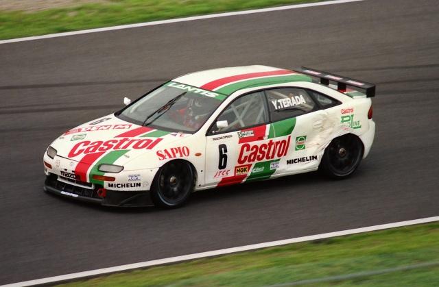 Mazda Lantis (323F BA) , japoński sportowy samochód, tuning, JDM, wyścigi