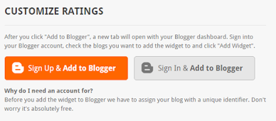 Rating widget blogger instruction