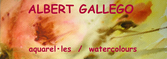 ALBERT GALLEGO AQUAREL•LES  ACUARELAS AQUARELLES  WATERCOLORS