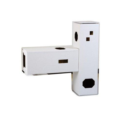 DIY貓咪塔屋 2箱型