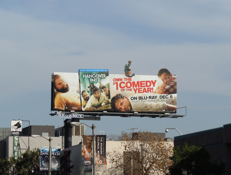 The Hangover 2 Bluray movie bilboard