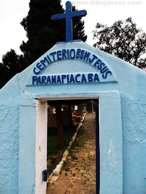 Cemitério de Bom Jesus, em Paranapiacaba