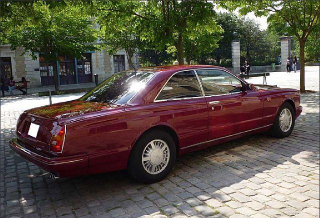 Bentley Continental R Mulliner Park Ward Lhd Classic Car