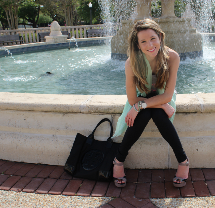 9th & Elm, Trophy Wife, Tory Burch, Subtle Luxury, Lily and Laura bracelets, Lauren Conrad, OOTD