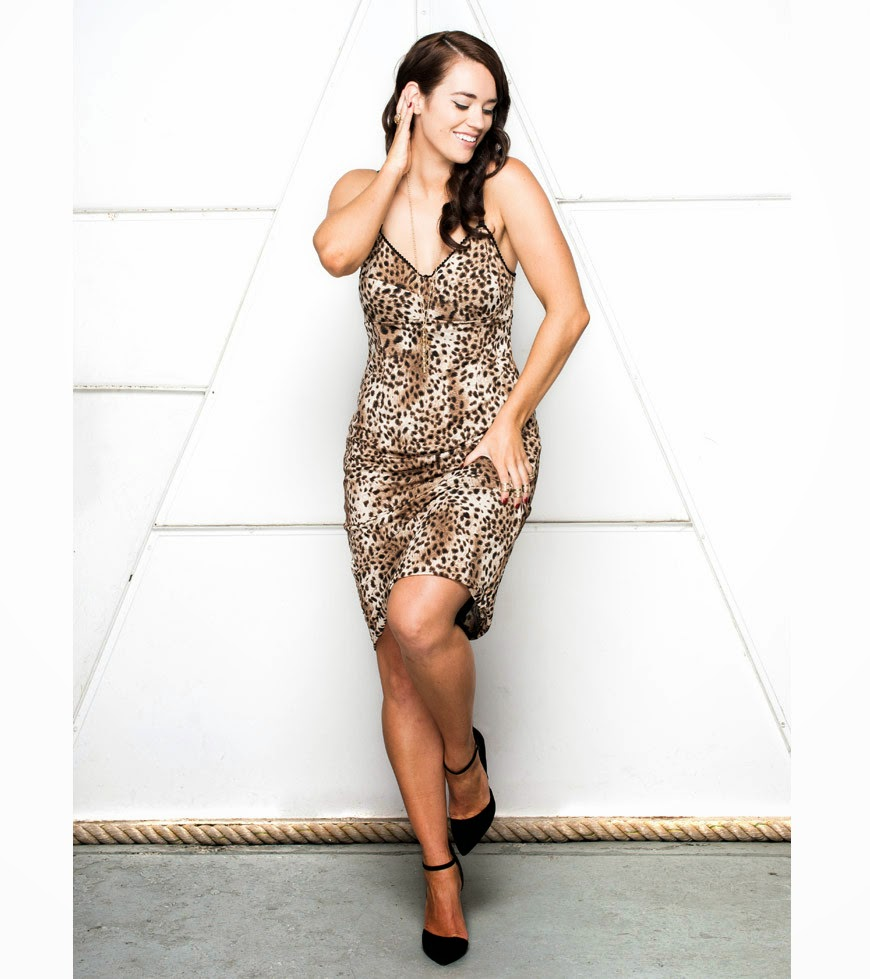 Plus Size Fashion Designer Lala Belle, Carrie Bradshaw slip dress