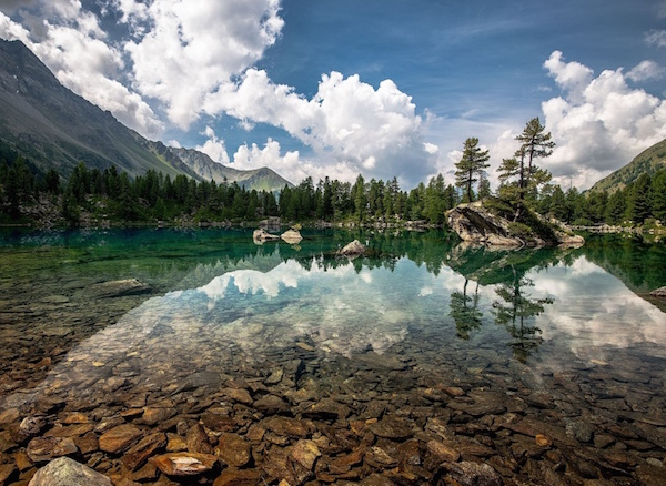 11. Crystal Clear Mountain Lake