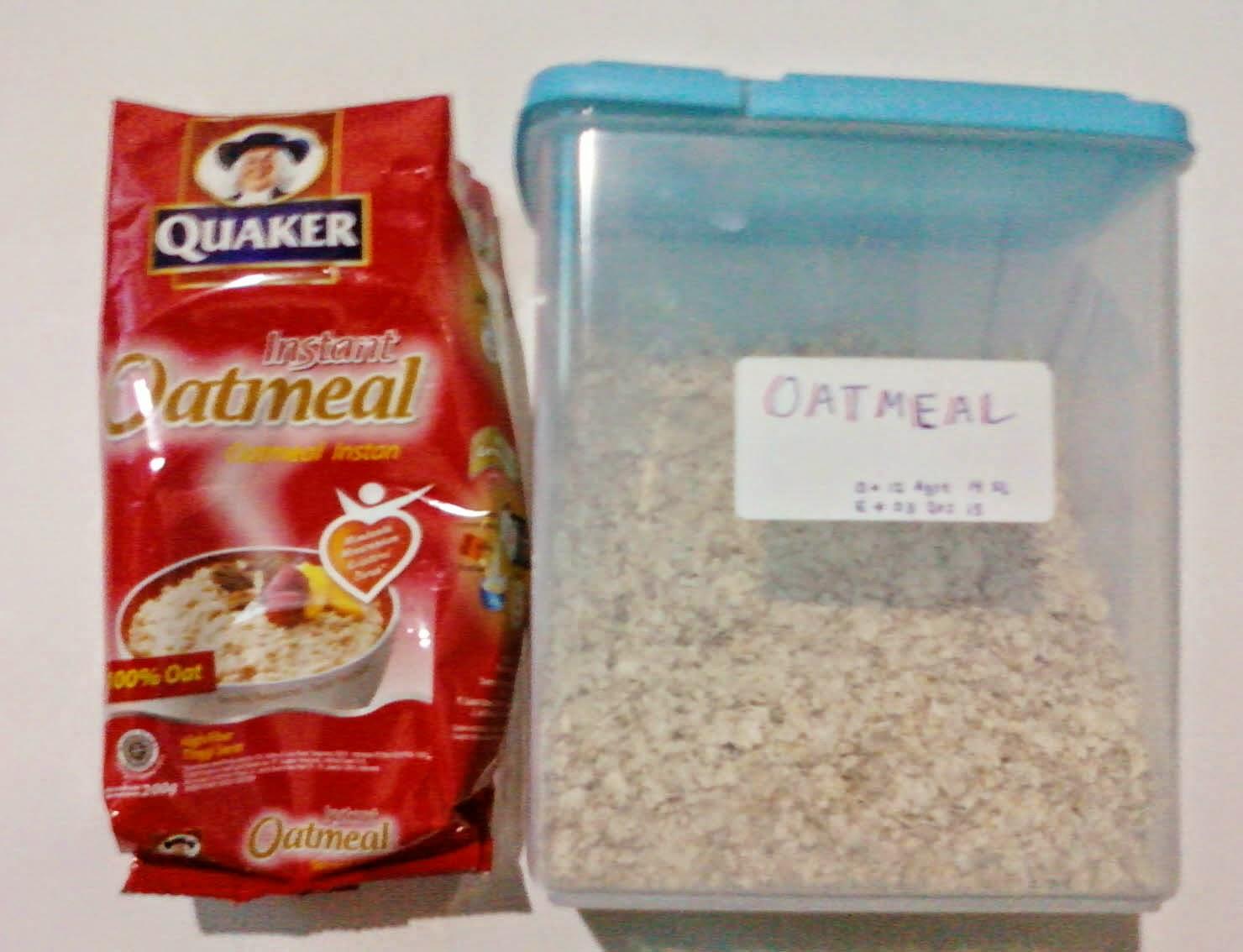 Rumah Renny: Quaker Oatmeal Enak dan Sehat
