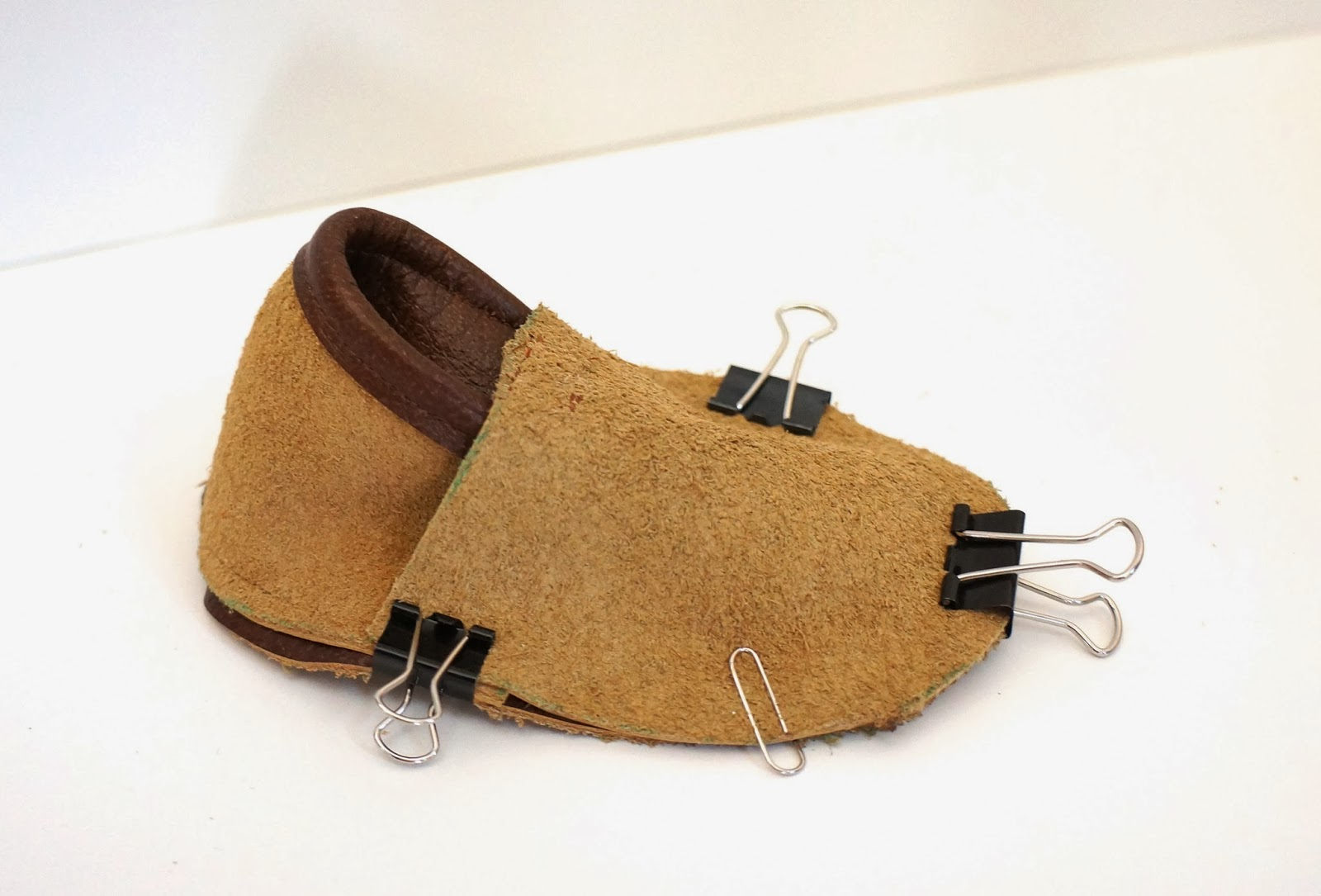 Baby Moccasins Sewing Pattern