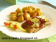 Pečená ryba s bylinkami - recept