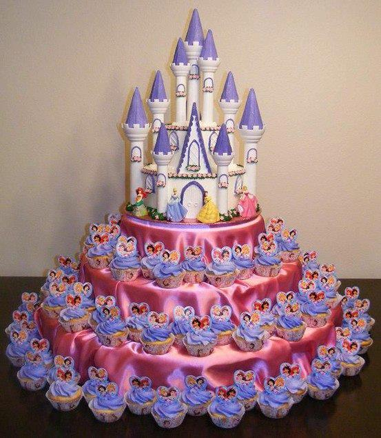 Birthday Cake Disney Castle