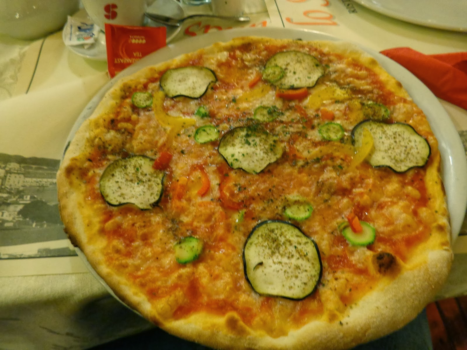 Pizza at Naples