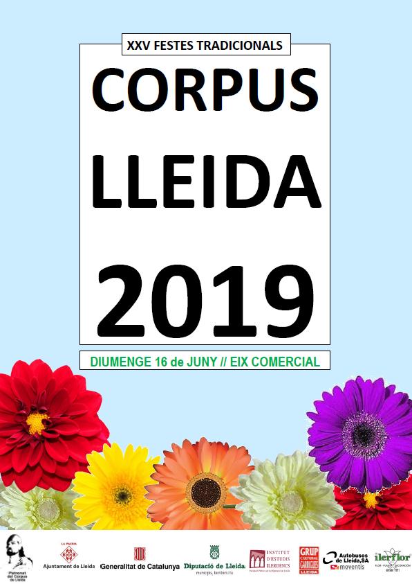 NOU CARTELL DEL CORPUS 2019