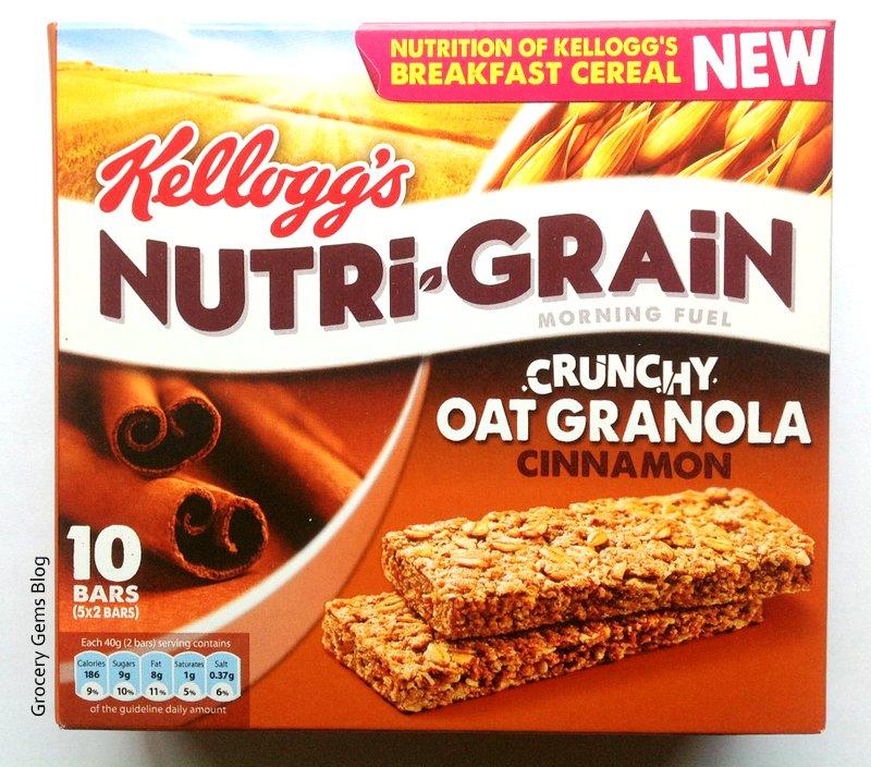 Nutri Grain Elevenses of Kellogg's Nutri-grain