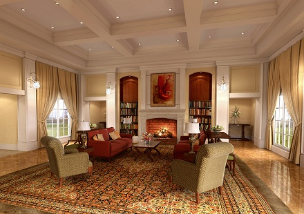 C mo decorar un sal n con estilo cl sico colonial y minimalista bonitadecoraci - Salon estilo colonial ...