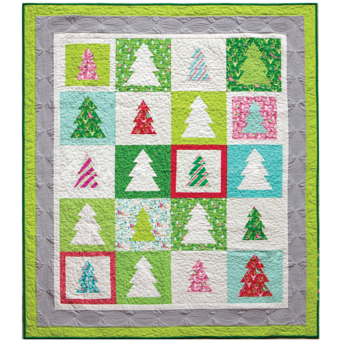 Christmas Quilt Patterns Moda : Quilt Inspiration: Free pattern day: Christmas quilts (part 1): Trees!