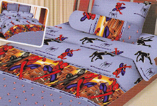 Sprei Fairmont Spiderman