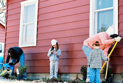 Doing chores give kids a sense of responsibility and belonging