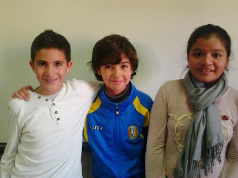 Romera, Adriana y Alonso