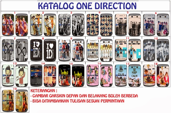 garskin one direction