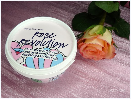 Bomb Cosmetics Rose Revolution masło do ciała