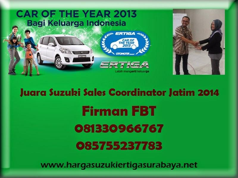 Harga OTR Suzuki Ertiga UMC Dan SBT Surabaya Sidoarjo Bangkalan Pamekasan By Firman FBT 085755237783