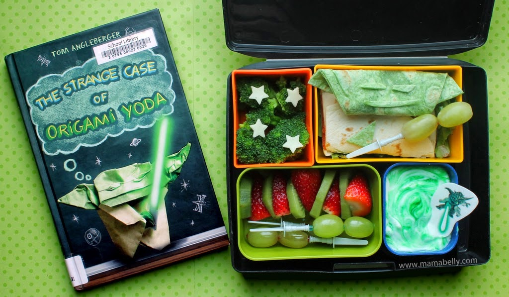 Our Origami Yoda Literary Lunch Is Filled With