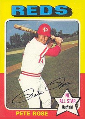 1975 Topps Pete Rose