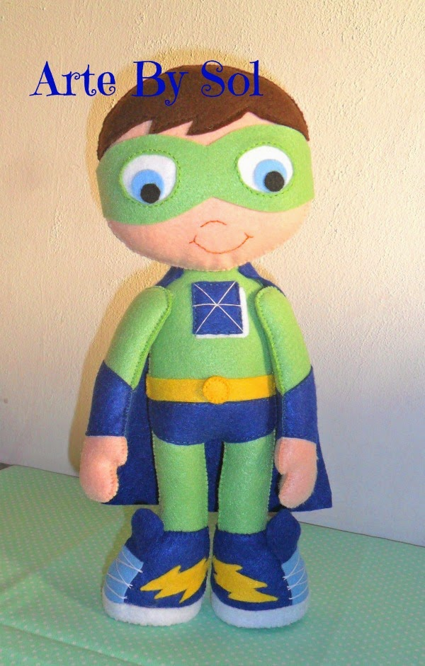 Super Why - Tam.33 cm