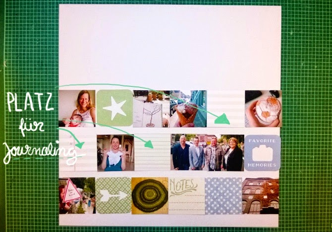Tutorial Monatsrückblick auf einem Layout von Wiebke Hahn für www.danipeuss.de