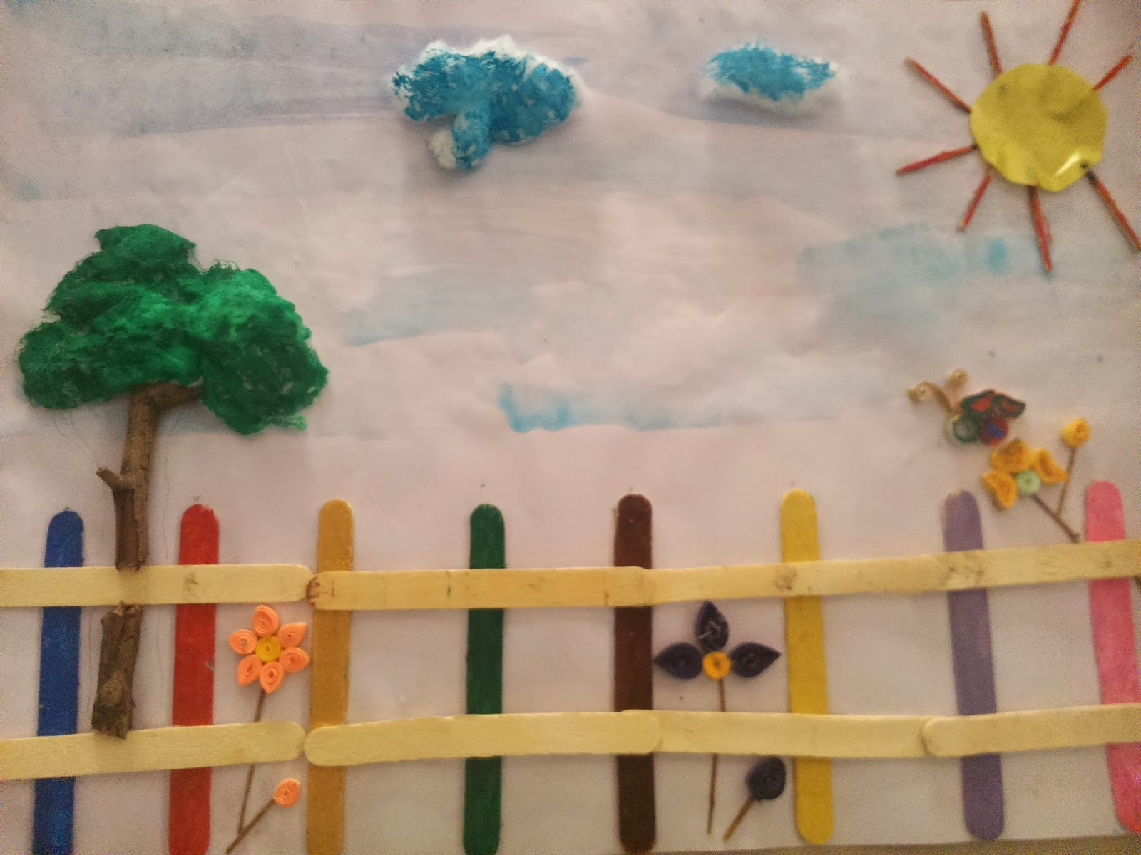 Our Learning Place: A new craft work