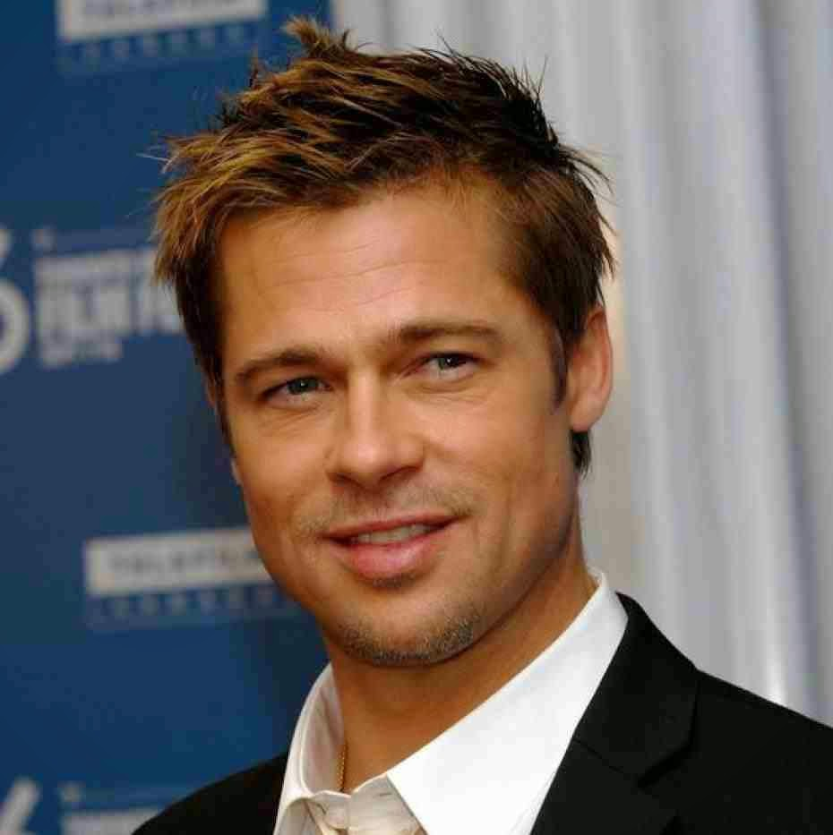 Brad Pitt - the vegetarian actor