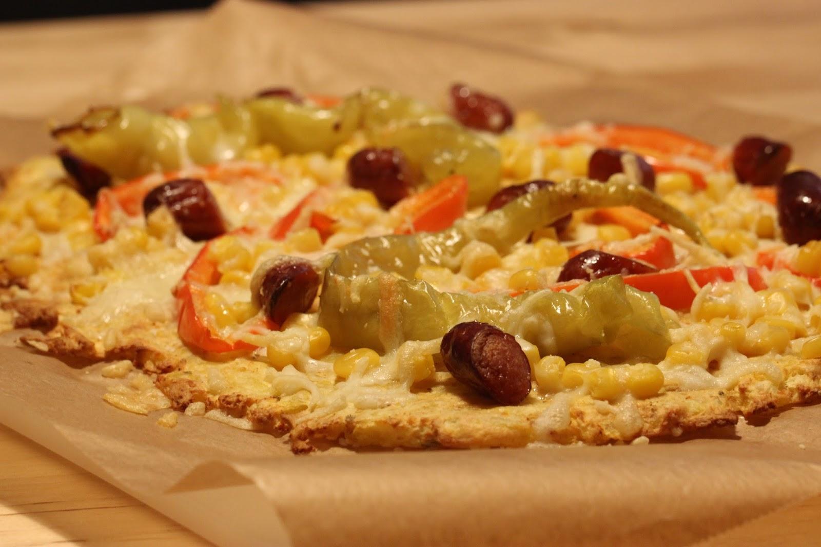 leckereien aus der mini k che pizza mit kartoffelboden. Black Bedroom Furniture Sets. Home Design Ideas