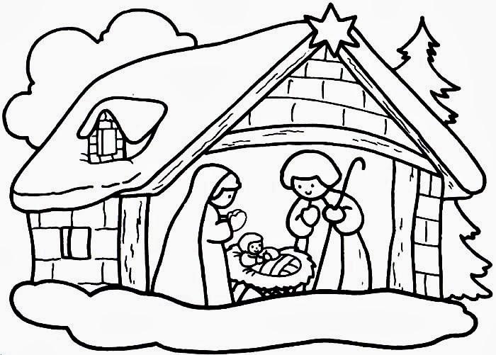 Top Atividades para baixar: Desenhos para colorir sobre o natal  XM51