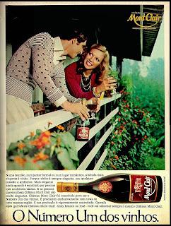 propaganda vinho mont clair - 1974