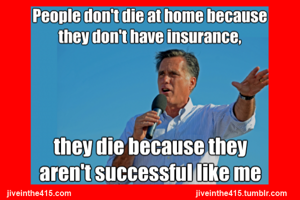 Romney meme don't die apartment successful