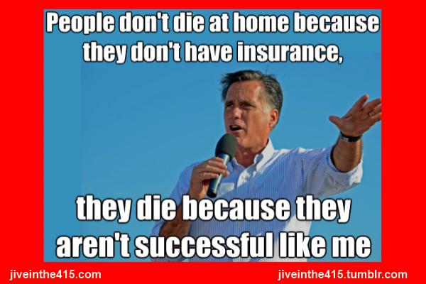Romney meme don't die apartment successful