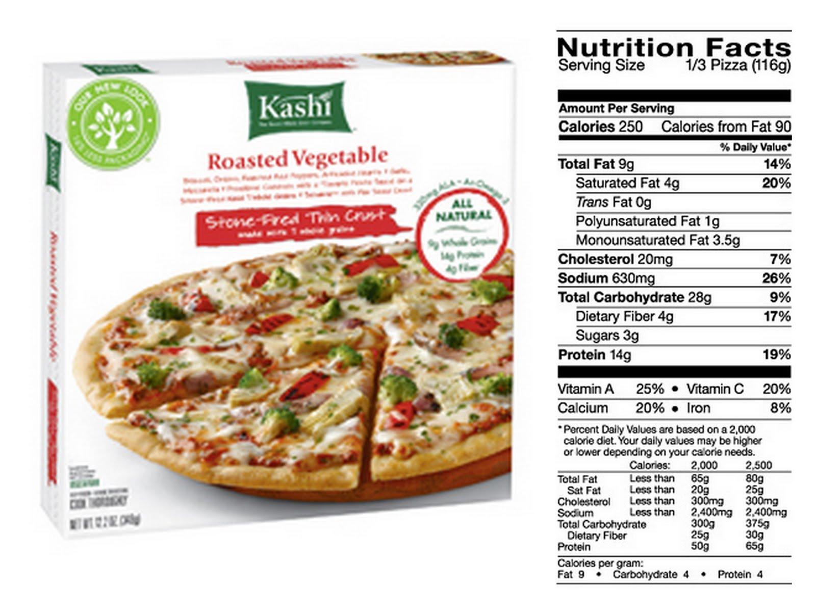 California Pizza Kitchen Frozen Pizza Nutrition weight loss diet: frozen pizza nutrition label