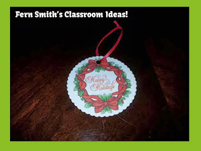 Fern Smith's Inexpensive Christmas Ornament Craft with Cardboard Coasters