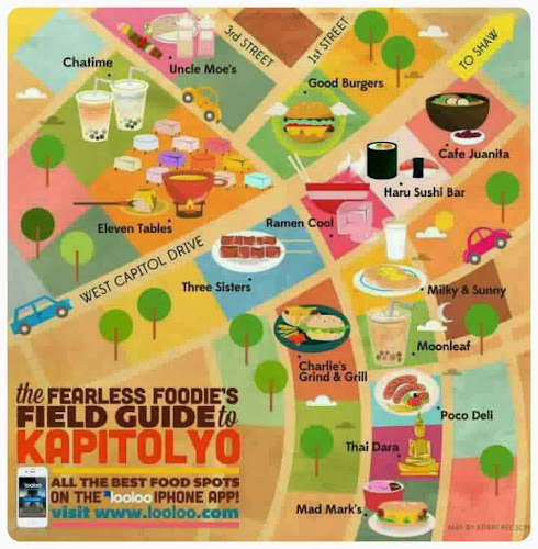 LooLoo Food Guide Kapitolyo