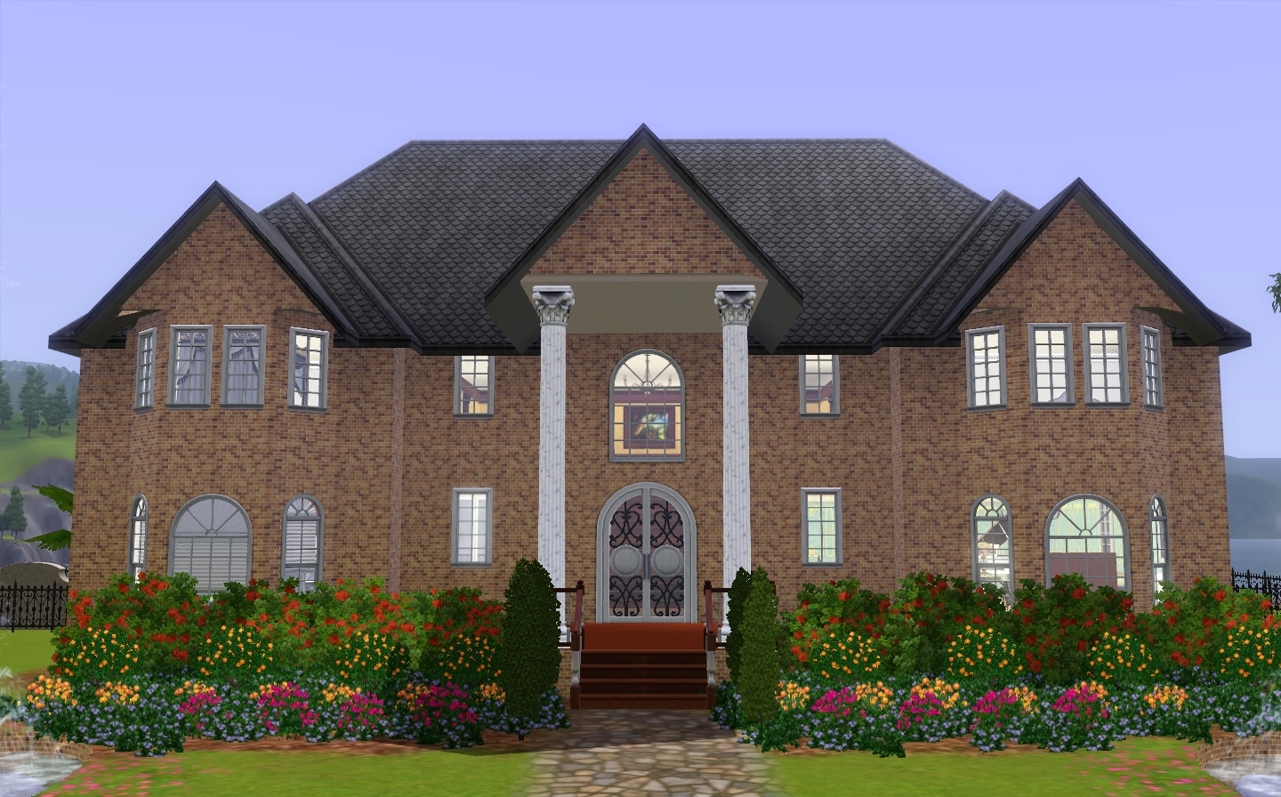 20 perfect images the sims 3 houses house plans 41361 for Classic house sims 3