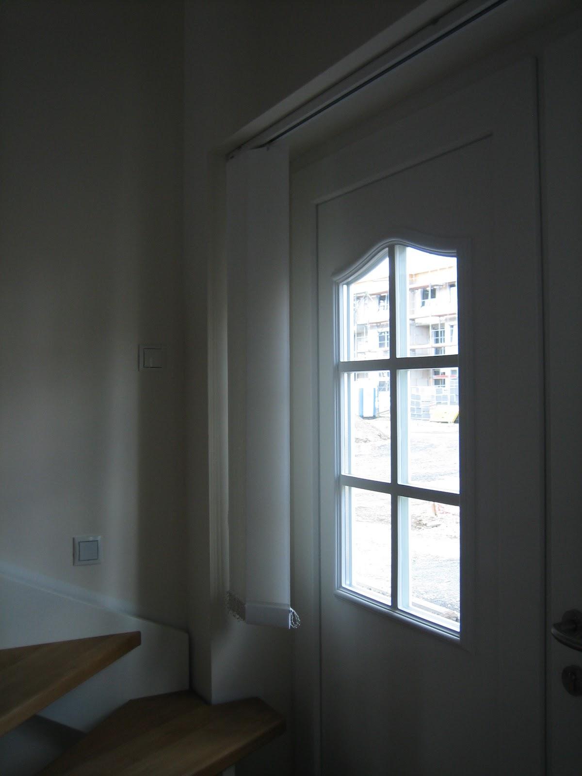 ECO SystemHaus in Gehrden Sichtschutz Haustür