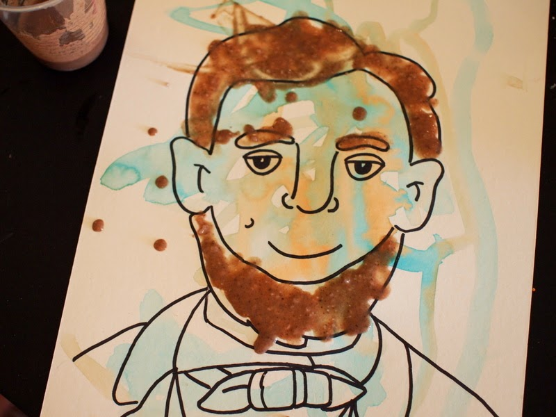 Abraham Lincoln Coloring Pages For Kindergarten : Homemade gluten free puffy paint recipe and free lincoln coloring