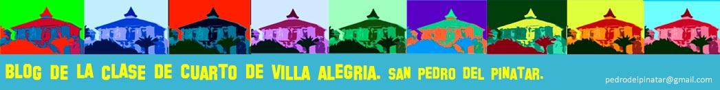 Blog de la clase de 4º del C.E.I.P. Villa Alegría